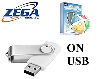 Toshiba Drivers Pack on USB FLASH PEN Install Missing Drivers Automatically Wireless, Network, Graphics and much more for Windows XP, Vista, 10, 7, 8 32/64 Bit Computer Laptop PC