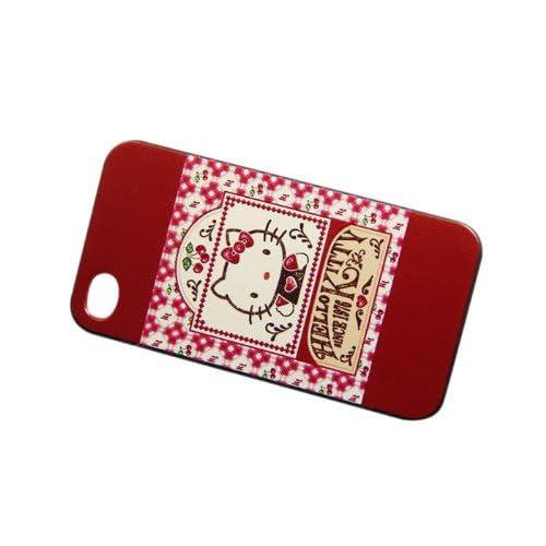 可愛い【iPhone5ケース カバー】 ip5-03-21 スマートフォン 【iPhone5Sケース】ハローキティ hello kitty 001