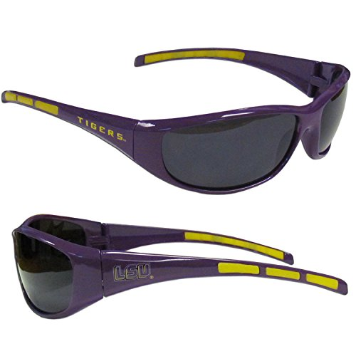 NCAA LSU Tigers Wrap Sunglasses (Tigers Merchandise compare prices)