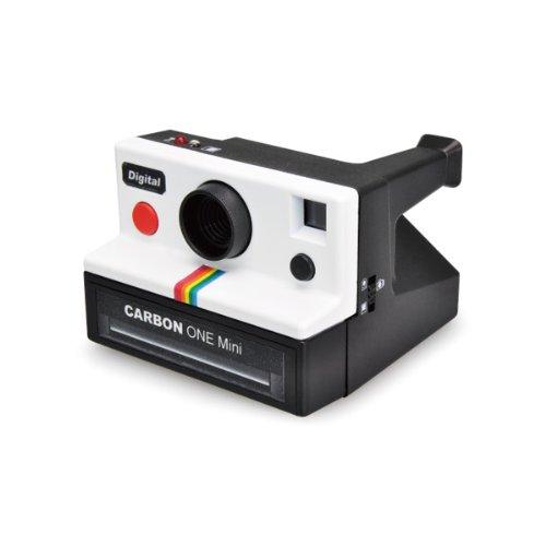【CARBON/カーボン】ONEmini/ワンミニ インスタントカメラ風ミニトイデジタルカメラ/ホワイト