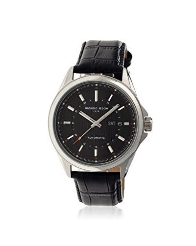 Giorgio Fedon 1919 Men's GIOGFBJ002 Fedonmatic VII Black Leather Watch