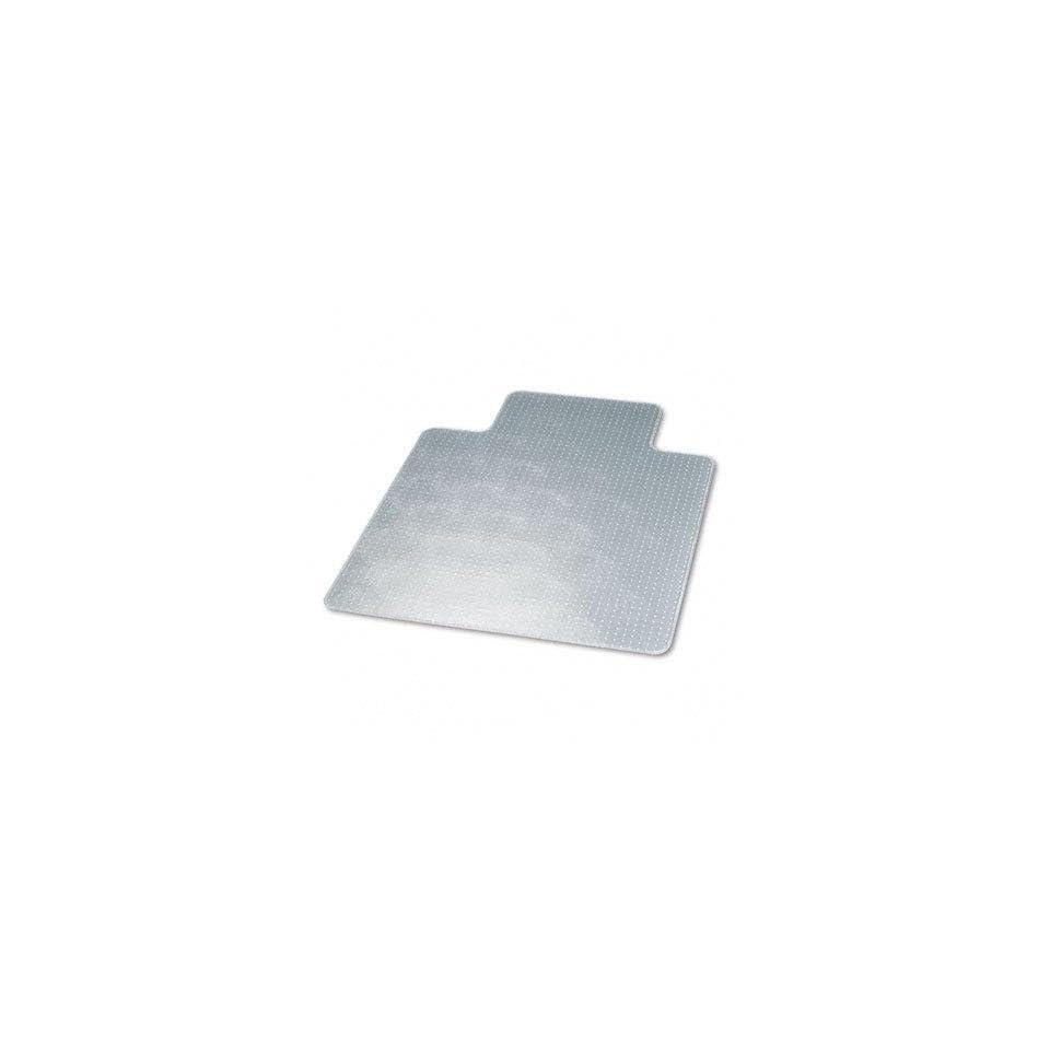 Advantus(tm) 58175   Antistatic Chair Mat for Low Pile Carpet, 45w x 53h, Clear