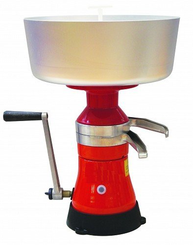 Dairy Milk Cream Separator Manual hand crank FULL METALL (Hand Crank Milk Frother compare prices)