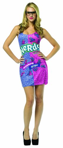 Rasta Imposta Nerds Candy Tank Dress with Purple Grapes, Adult