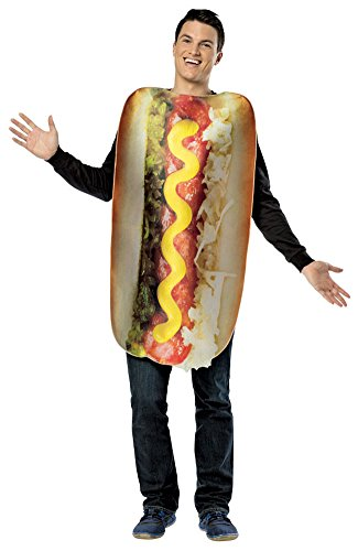 adult costumes - Get Real Loaded Hot Dog Adult Costume