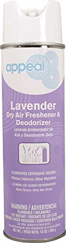 Appeal APP12739 Handheld Dry Air Freshener, Yellow, Lavender Scent, 20 oz., 12 per Case (Yellow Air Freshener compare prices)