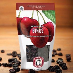 Chukar Cherries Northwest Bings, No Sugar Added