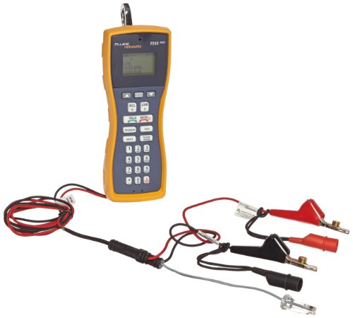 Fluke Networks Ts23-Ar-09 Ts23 Pro Built-In Test Set With Abn With Piercing Pin And Rj-11 Plug