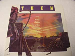 Them Laserdisc Laser Disc Sci-Fi James Whitmore, James Arness, Edmund Gwenn
