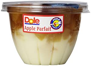 Dole Fruit Parfait, Apple & Creme, 7-Ounce Cups (Pack of 12)