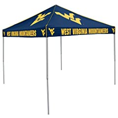 Buy NCAA West Virginia Mountaineers Tent by Logo Chairs Inc