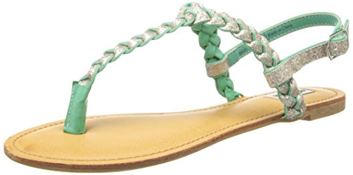 Not Rated Women'S White Clover Dress Sandal,Mint,7 M Us