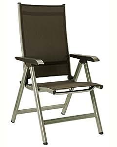 kettler basic plus multipositionssessel champagner mocca. Black Bedroom Furniture Sets. Home Design Ideas