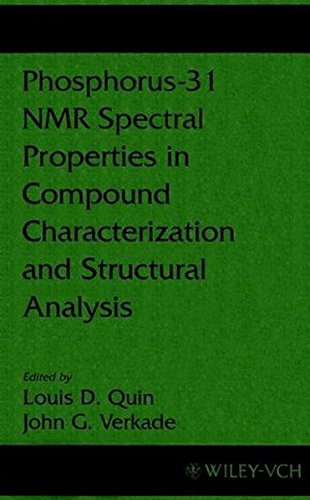 Phosphorus-31 NMR Spectral Props in Comp (Methods in Stereochemical Analysis)
