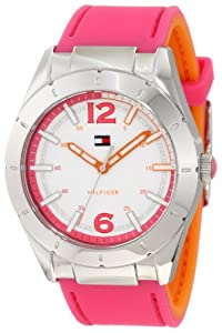 Tommy Hilfiger Women's 1781212 Sport Silicon Reversible Watch