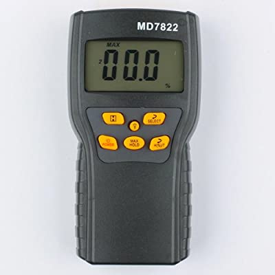 MD7822 Digital Grain Moisture Temperature Meter Tester Resolution 0.5%