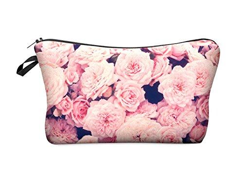 CINEEN Impermeabile Borsa Cosmetico - Make-up Bag Beauty Case penna astuccio Portamonete Trucco Sacchetto borsa da toilette ragazza