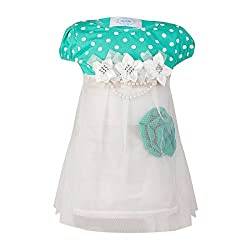 Pikaboo Princess Flora Dress - Sea Green