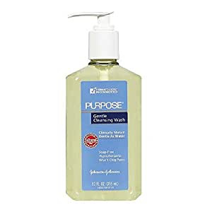 Purpose Gentle Cleansing Wash, 12-Ounce Pump Bottle