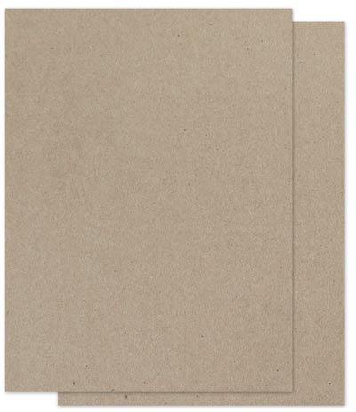Brown Bag Paper - Kraft - 8.5 X 11 - 65Lb Cover - 100 Pk