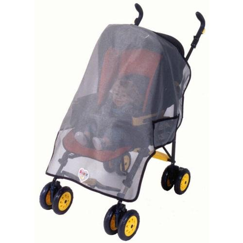 Wrap Around Single Stroller Sun, Wind & Insect Protector