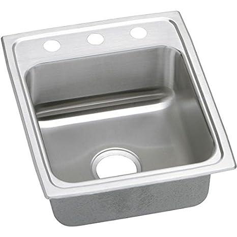Elkay PSR17202 Gourmet Pacemaker Sink, Stainless Steel