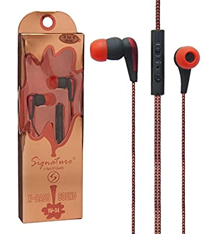 Signature VM-34 In Ear Headset