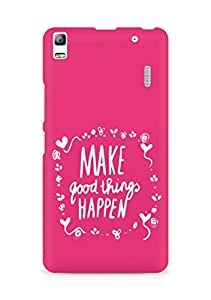 AMEZ make good things happen Back Cover For Lenovo K3 Note