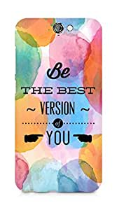 Amez Be the Best version of Yourself Back Cover For HTC One A9