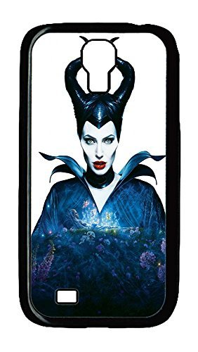Samsung Galaxy S4 Case,Customize Ultra Slim Maleficent Angelina Jolie Horns Fairy Tail Hard Plastic PC Blcak Case Bumper Cover for (Make Maleficent Horns)