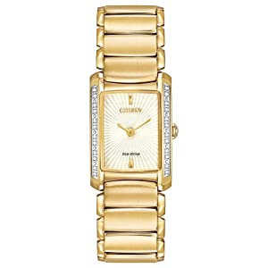 Citizen Women's EG2962-51A Euphoria Analog Display Japanese Quartz Gold Watch