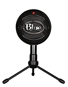 Blue Microphones Snowball iCE Black Microphone with Knox Studio Boom Arm & Pop Filter from Blue Microphones