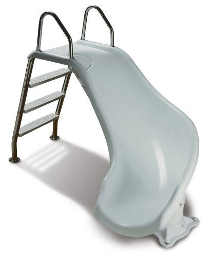 Inter-Fab ZM-CR-SS Zoomerang Slide Right Turn Slide Kit, White (Slide Pool compare prices)
