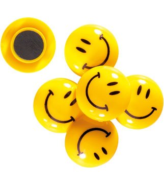 Calamite Smile per Lavagna Magnetica 12 pz