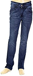 HAVOC Boys' 25065 Slim Fit Jeans (Blue, Size 32 - 7 to 8 Years)