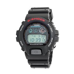 (降价)Casio Men's DW6900-1V G-Shock卡西欧潜水电子表$40.74