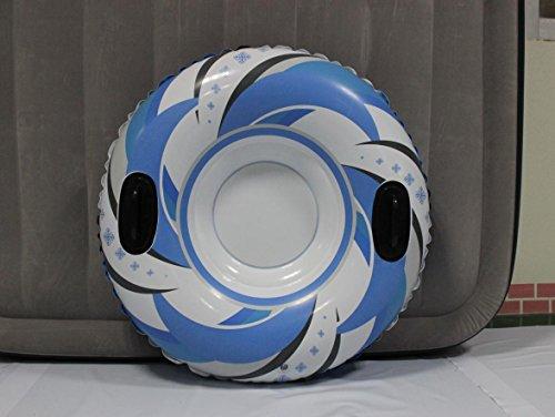 HXQ-Ski-gonflable-PVC-cercleronde-anneau-de-skiski-tubeherbe