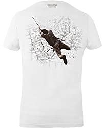 GOZOO Uncharted Men's The Treasure Hunt T-Shirt White, 100% Cotton
