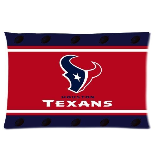 Butuku Nfl Houston Texans Football Club Personalized Rectangle Pillow Case 24X16 (One Side) front-601843