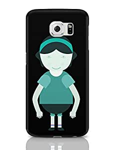 PosterGuy Cute Happy Little Girl Baby, Beauty, Cartoon, Activity, Dress, Education, Characters, Child, Childhood, Craft, Cute, Depression, Girls, Comic, Healthy . Samsung Galaxy S6 Covers