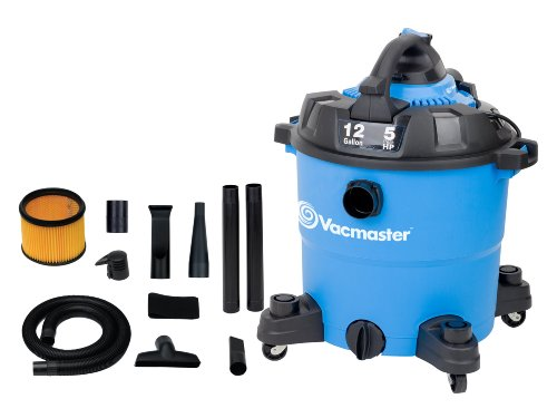 Vacmaster VBV1210 Detachable Blower Wet/Dry Vacuum, 12 Gallon, 5 Peak HP