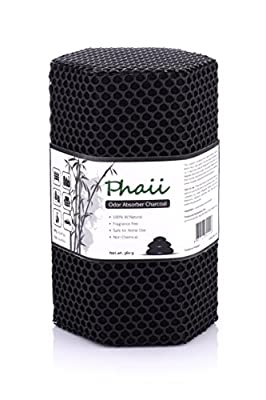 Bamboo Activated Charcoal Odor Absorber | Best Charcoal Air Purifier | Natural Odor Eliminator | Shoe Deodorizer | Chemical Free | Perfect For Home Use