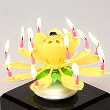 Happy Birthday Candle - Color may vary