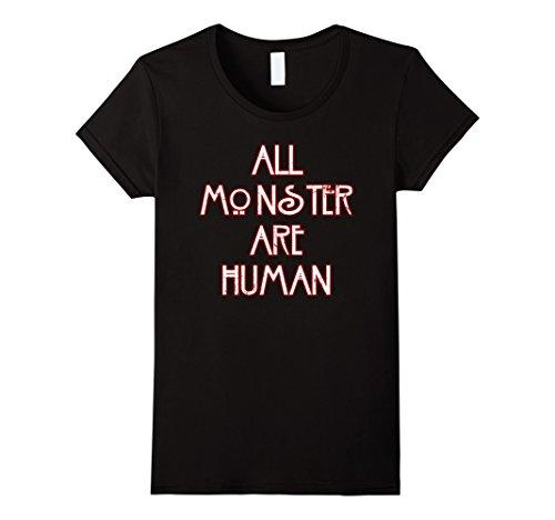 [Women's AHS Mu-rder House, As-ylum, Cov-en, Freak Show, Hotel Shirt Medium Black] (Ahs Coven Halloween Costumes)