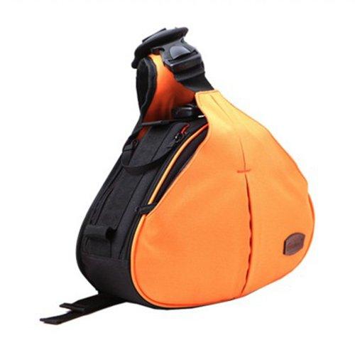 Zenness Dslr Camera Case Bag For Canon Eos 70D 60D 6D T3I T4I T5I 7D 5D Mk Series Nikon D610 D600 D7000 D7100 D5200 D3200 D800 D300S Orange