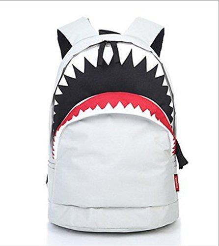 vlunt-rucksack-backpack-hiking-travel-backpack-schoolbag-messenger-tote-bag-for-girls-boys-weiss
