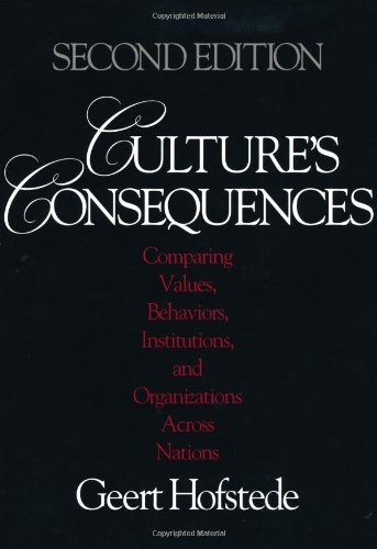 Culture's Consequences: Comparing Values, Behaviors,...