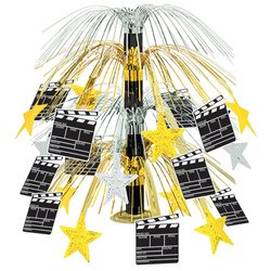 Movie Set Clapboard Cascade Centerpiece Party Accessory (1 count) (1/Pkg)
