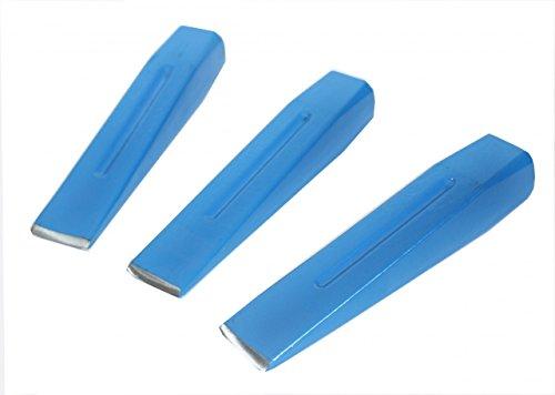 3-Spaltkeile-25-Kg-Holzspaltkeile-Holzspalter-Keil-Keile-Holz-spalten-Brennholz