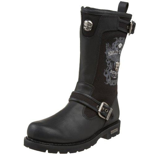 Harley Davidson Mens Daredevil Engineer Boot,Black,8 M US
